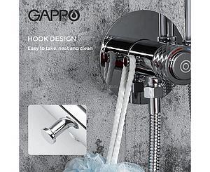 Смеситель с гигиеническим душем  Gappo 7288 встраеваемый