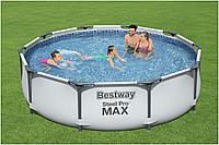 Каркасный бассейн Bestway 56416 366*76см + фильтр насос