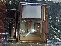 Набор настольный 9 предметов, дерево, темно-коричневый Good Sunrise, фото 2