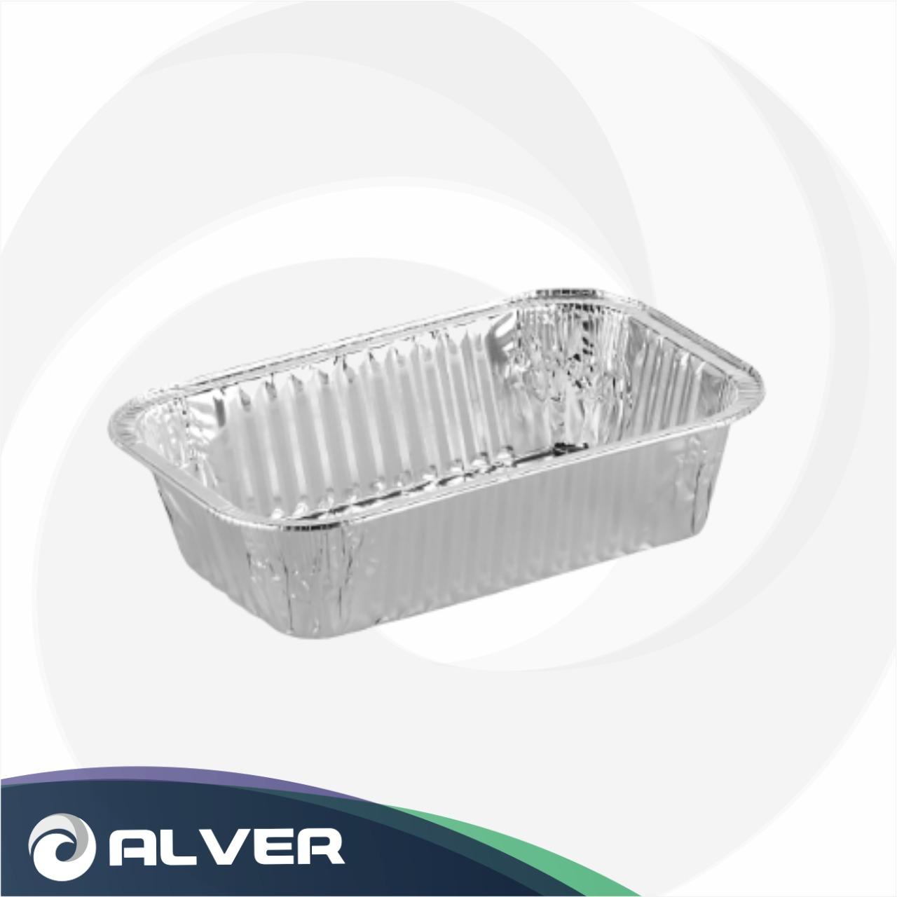 Контейнер алюминиевый SJ-2011, 200*111*55 650мл (R13L) 125шт в упак