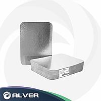 Крышка к алюминиевому контейнеру SJ-2011, 650мл (R13L) 125шт в упак