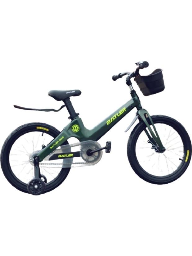 Велосипед Batler A 14 2021 зеленый