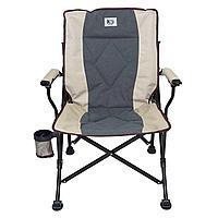 Кресло складное с подлокотниками с наклонной спинкой KYODA APL-LG403RK р. 53*66*44 см,