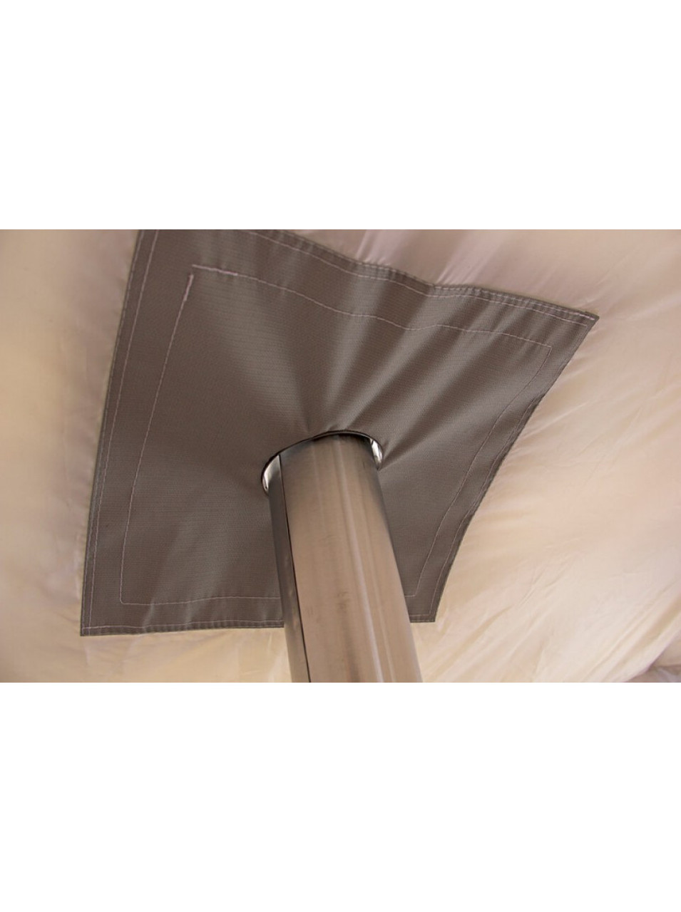 Палатка всесезонная Берег КУБ 2.20 двухслойная, непромокаемый пол из ПВХ размер 2,2 х 2,2 х 1,9 м. - фото 5