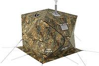 Палатка всесезонная Берег КУБ 2.20 двухслойная, размер 2,2 х 2,2 х 1,9 м.