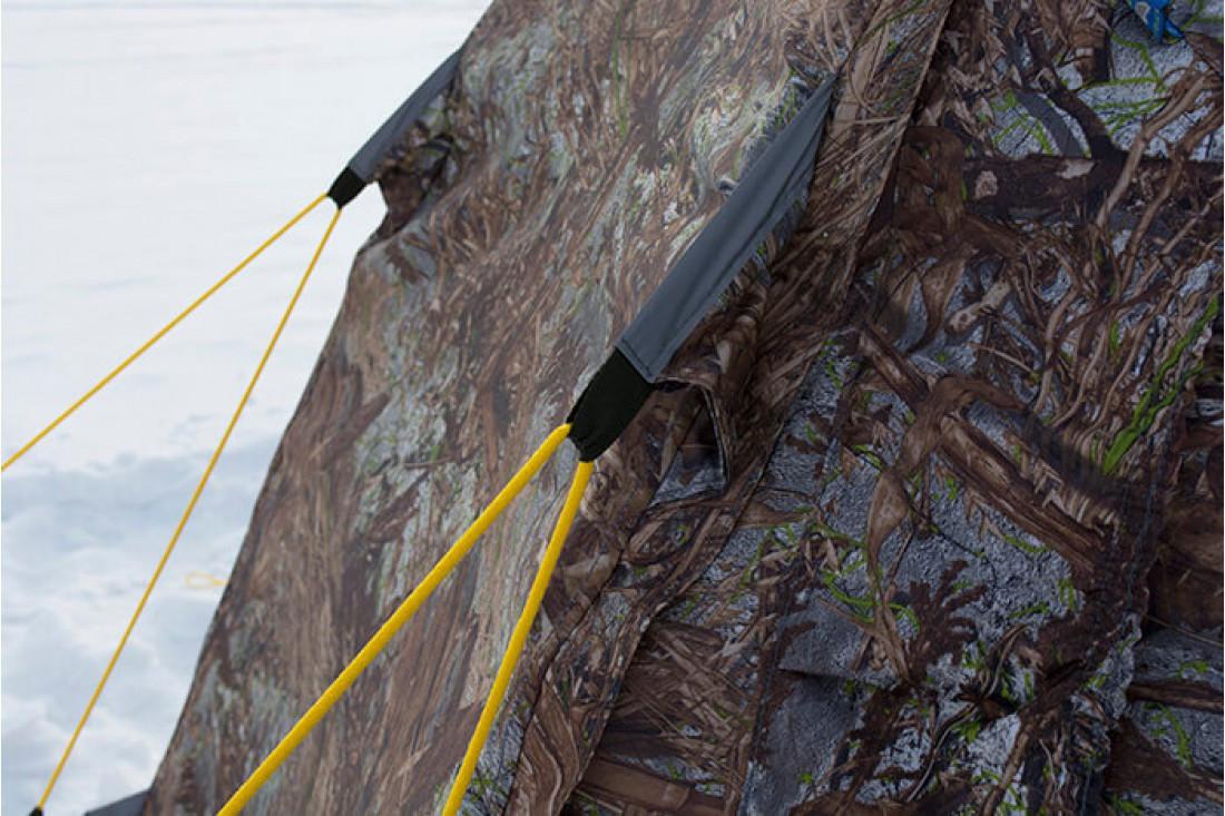 Берег палатка универсальная УП-5 с теплым полом в комплекте - фото 6