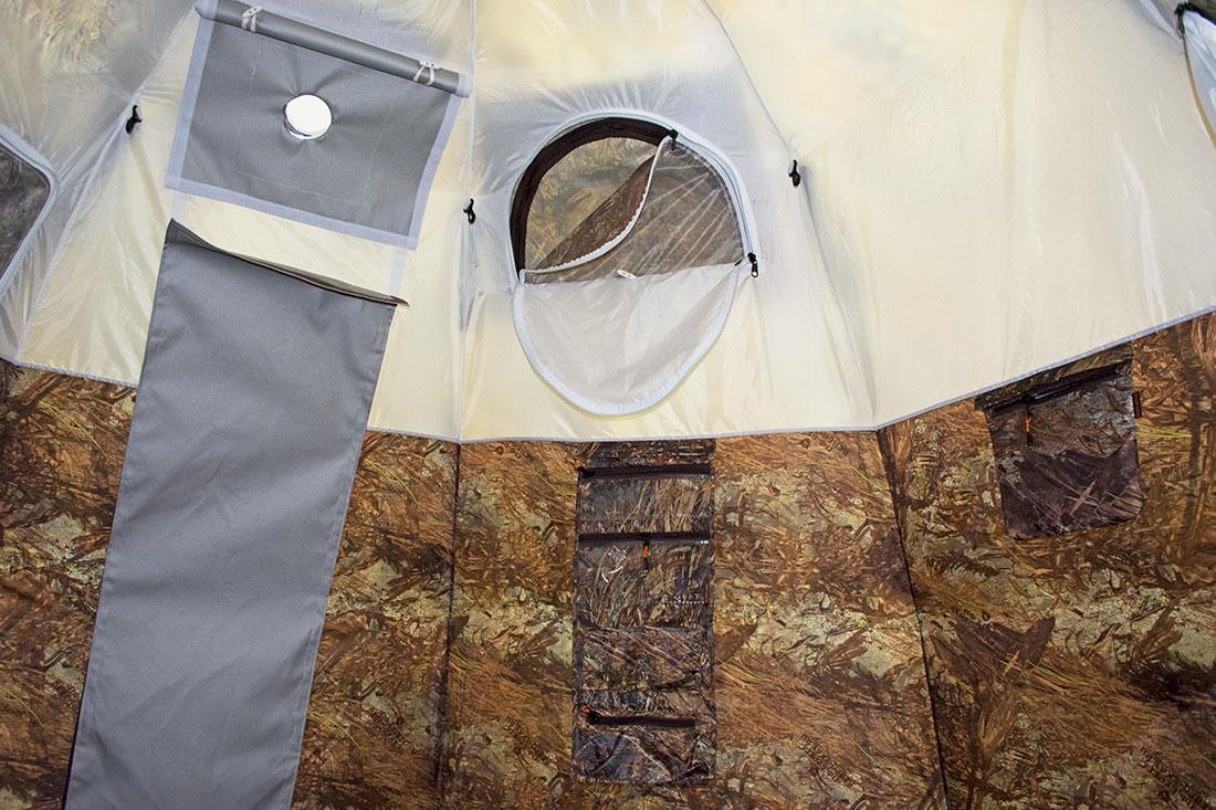 Берег палатка универсальная УП-5 с теплым полом в комплекте - фото 9