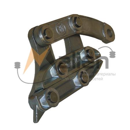 Монтажный зажим (лягушка) ЗПМ 6-14, диаметр кабеля 6-14 мм