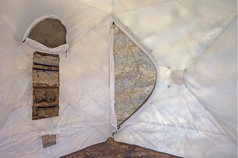 """Берег всесезонная двухслойная палатка """"КУБ 1.80"""" - фото 10"""