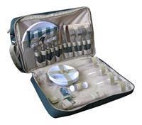 Сумка для пикника CONDOR на 4 персоны TWPB-3637A1. Пластмассовая посуда, изотермический отдел. Цвет
