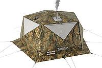 Палатка всесезонная Берег КУБ Пентагон двухслойная, непромокаемый пол из ПВХ, площадь 8,33 м²