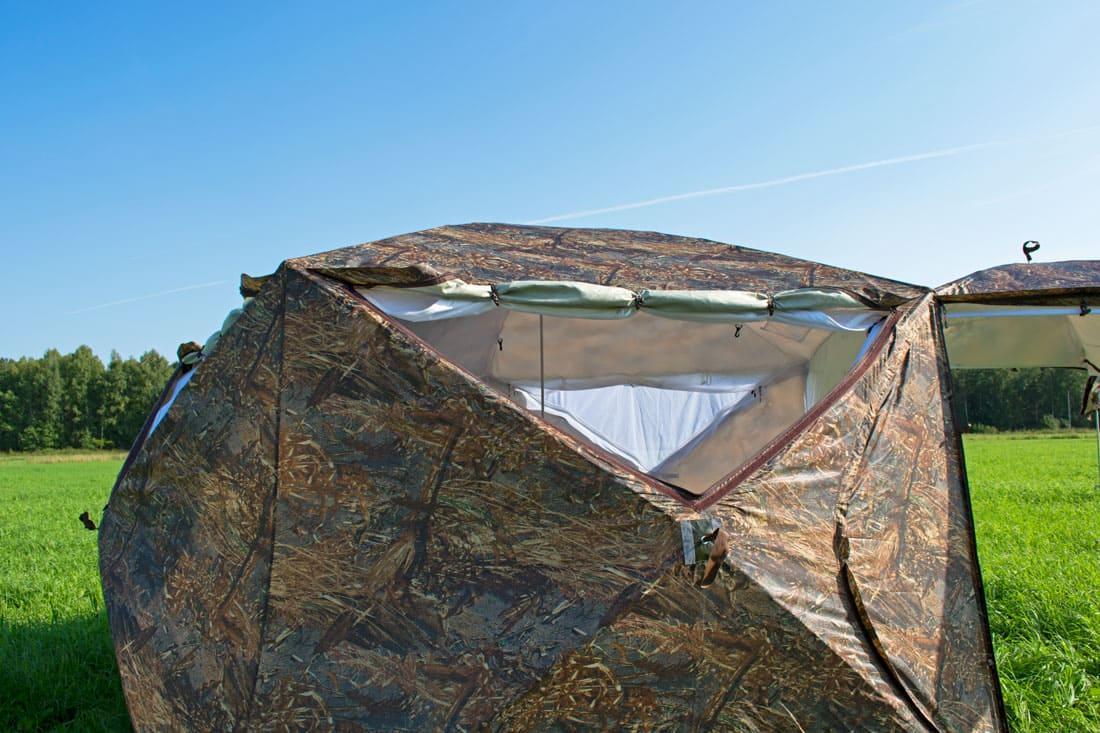 Палатка всесезонная Берег КУБ Пентагон двухслойная, площадь 8,33 м² - фото 6