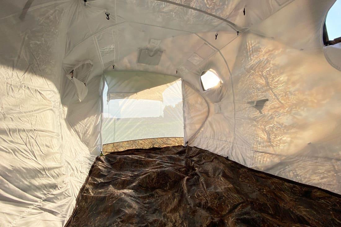 Палатка всесезонная Берег Кубоид 3.60 двухслойная, размер 3,6 x 1,8 x 1,9 м. - фото 6