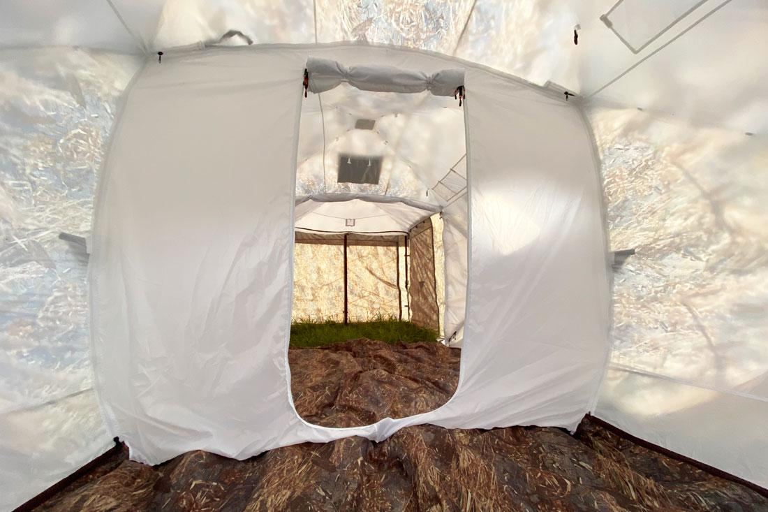 Палатка всесезонная Берег Кубоид 3.60 двухслойная, размер 3,6 x 1,8 x 1,9 м. - фото 8
