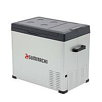 Холодильник автомобильный SUMITACHI C50 обьём 50 литров питания 12В/24В и 100-240В компрессорный