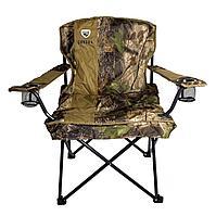 Кресло складное с подлокотниками/подстаканниками CONDOR APL-XLB303 р.60*60*50 см, цвет КМФ