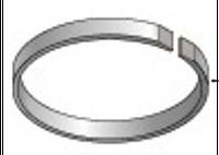 Стопорное кольцо, H