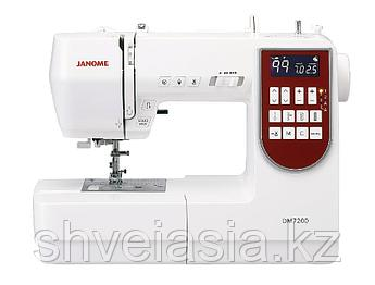 Компьютерная швейная машина Janome DM-7200 в комплекте с приставным столиком