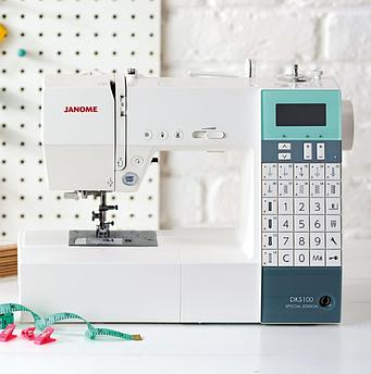 Компьютерная швейная машина Janome DKS-100