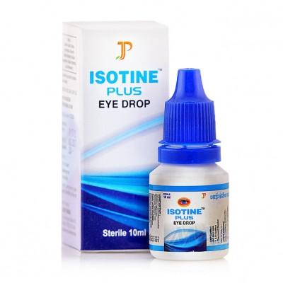 Глазные капли Айсотин плюс (Isotine Plus Eye Drop)