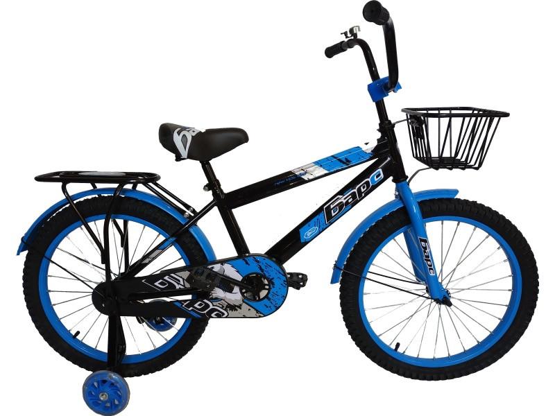 Велосипед Барс BE 20 2020 17 черный-синий