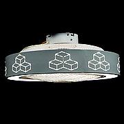 Вентилятор Светильник 009/LED D=500