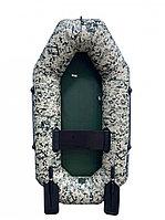 Лодка АКВА-ОПТИМА 190 камуфляж пиксель зеленый(2269), фото 1
