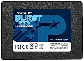 "Накопитель SSD 2.5"" SATA III Patriot  480GB BURST ELITE 450/320 PBE480GS25SSDR"