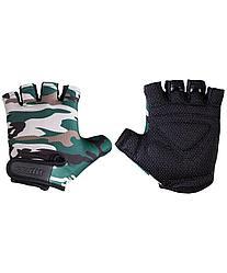 Перчатки для фитнеса SU-126, хаки Starfit