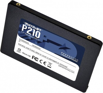 "Накопитель SSD 2.5"" SATA III Patriot  256GB P210 530/460 P210S256G25"