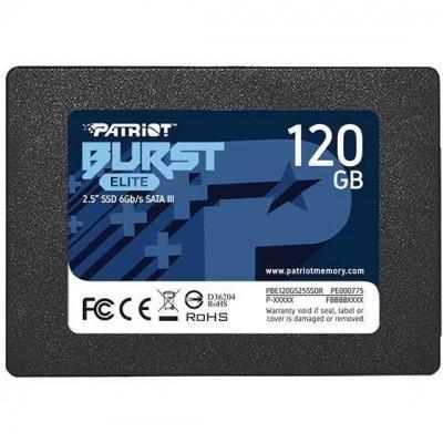 "Накопитель SSD 2.5"" SATA III Patriot  120GB BURST ELITE 450/320 PBE120GS25SSDR"