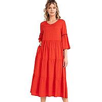 Платье домашнее женское M / 44-46, Красный