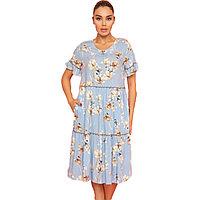 Платье домашнее женское S / 42-44, Голубой