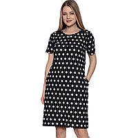 Платье домашнее женское M / 44-46, Черный