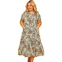 Платье домашнее женское XL / 48-50, Ментоловый