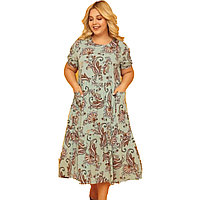 Платье домашнее женское 2XL / 50-52, Ментоловый