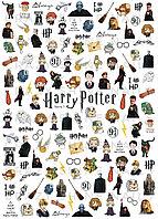"""Слайдер дизайн Crazy Shine Nails """"Гарри Поттер часть 1"""""""
