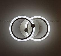 Современная LED люстра с пультом 3 режима  44W
