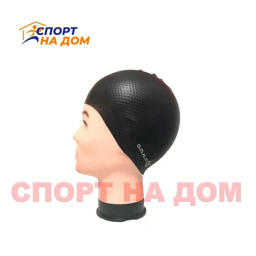 Шапочка для плавания SALTO (цвет чёрный)