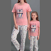 Пижама женская M / 44-46, Розовый
