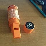 Компас с контейнером для НАЗа / спичек / трута и др. (5в1), фото 2