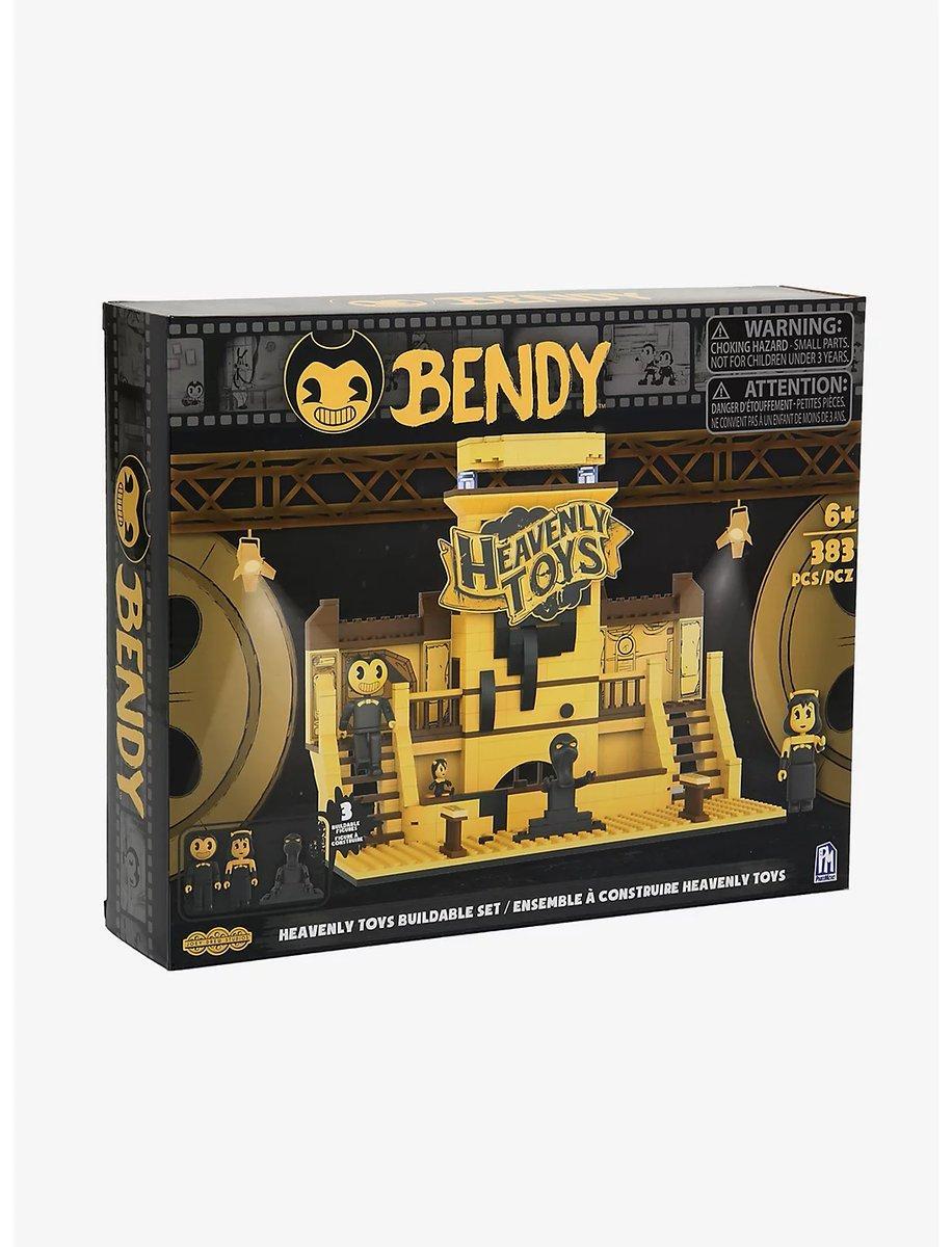 """Bendy Бенди и чернильная машина Конструктор """"Комната Небесных игрушек"""" 383 дет."""