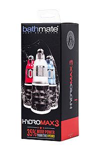 Гидропомпа BATHMATE HYDROMAX3, прозрачная, 22 СМ, ОРИГИНАЛ