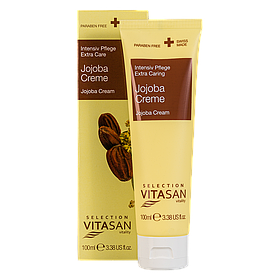 Крем Жожоба питательный жиросберегающий для ухода за очень сухой и шелушащейся кожей лица, рук и тела