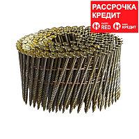 FUBAG Гвозди барабанные для N90C_2.87x75 мм_кольцевая накатка_250 шт.