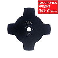 FUBAG Триммерный диск_4 лопасти_внешний диаметр 255мм_посадочный диаметр 25.4мм. толщина 1.6мм