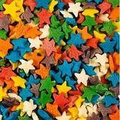 Посыпка для мороженого и десертов Деко-про Звезды, разноцветные 750 г