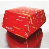 Коробка для гамбургера Emoji 118x107x78 мм, бумага