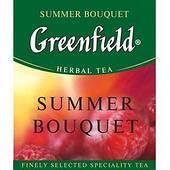Чай травяной пакетированный Greenfield Саммэ Букет