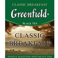 Чай черный пакетированный Greenfield Классик Брекфаст